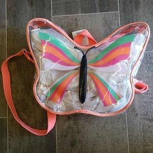 NWT Cat & Jack Butterfly backpack